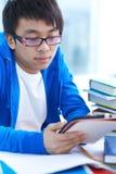 Estudiante en universidad Foto de archivo