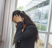 Estudiante fallado en la pared Foto de archivo