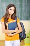 Estudiante feliz Foto de archivo libre de regalías