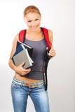 Estudiante feliz Foto de archivo