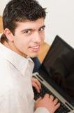 Estudiante feliz Fotografía de archivo libre de regalías