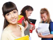 Estudiante femenino Imagenes de archivo