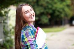 Estudiante femenino al aire libre Fotografía de archivo