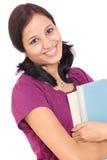 Estudiante femenino alegre Foto de archivo
