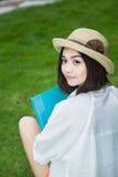 Estudiante femenino asiático Fotos de archivo libres de regalías