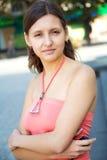 Estudiante femenino bastante joven Fotos de archivo libres de regalías