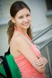 Estudiante femenino bastante joven Imágenes de archivo libres de regalías