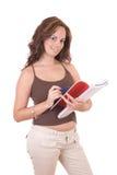 Estudiante femenino hermoso Imagen de archivo