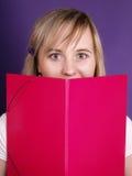 Estudiante femenino hermoso Fotografía de archivo libre de regalías