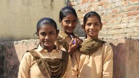 Estudiante Girls Classmates fotografía de archivo libre de regalías