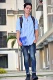 Estudiante And Happiness Walking del muchacho foto de archivo libre de regalías