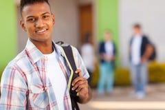 Estudiante indio de la escuela Foto de archivo