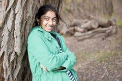 Estudiante indio en al aire libre Fotografía de archivo