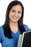Estudiante indio femenino joven Imagen de archivo