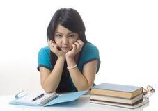 Estudiante infeliz Fotografía de archivo
