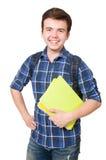 Estudiante joven With Book Foto de archivo libre de regalías
