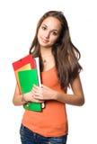 Estudiante joven cómodo dulce. Imagen de archivo libre de regalías