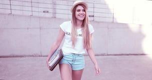 Estudiante joven de moda atractivo Foto de archivo