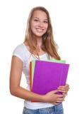 Estudiante joven de risa Imágenes de archivo libres de regalías