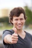 Estudiante joven feliz Fotos de archivo