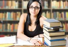 Estudiante joven hermoso. Fotos de archivo