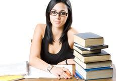 Estudiante joven hermoso. Fotografía de archivo
