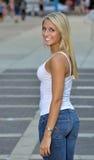 Estudiante joven hermoso de Latina Fotografía de archivo