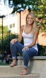 Estudiante joven hermoso de Latina Imagenes de archivo