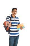 Estudiante joven indio Fotografía de archivo libre de regalías
