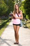 Estudiante joven magnífico. Fotos de archivo libres de regalías