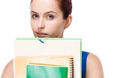 Estudiante joven pensativo. Imagen de archivo libre de regalías