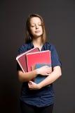 Estudiante joven soñador soñoliento. Fotografía de archivo libre de regalías