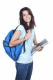 Estudiante joven sonriente de la High School secundaria del adolescente Fotos de archivo