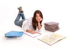 Estudiante lindo Foto de archivo libre de regalías