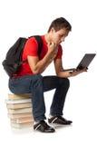 Estudiante listo Foto de archivo libre de regalías