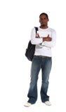 Estudiante masculino Foto de archivo libre de regalías