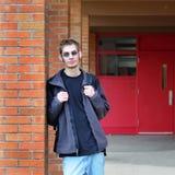 Estudiante masculino atractivo Imágenes de archivo libres de regalías