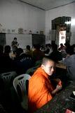 Estudiante Monk de Laos Fotografía de archivo libre de regalías