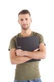 Estudiante motivado fotografía de archivo