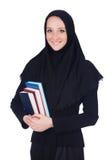 Estudiante musulmán joven imagen de archivo