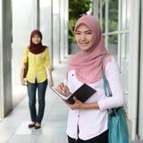 Estudiante musulmán joven hermoso Fotos de archivo