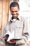 Estudiante negro Imagen de archivo libre de regalías