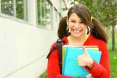 Estudiante orgulloso Fotos de archivo