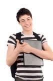 Estudiante que señala en usted. Fotos de archivo libres de regalías