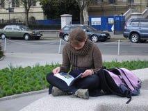 Estudiante que se relaja Fotografía de archivo libre de regalías