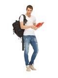 Estudiante que viaja Foto de archivo