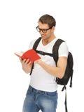 Estudiante que viaja Foto de archivo libre de regalías