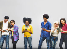 Estudiante Relationship Team Concept de la conexión de los colegas Foto de archivo