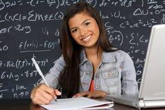 Estudiante At School Imagen de archivo libre de regalías