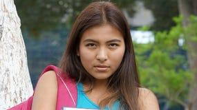 Estudiante serio del adolescente Fotografía de archivo libre de regalías